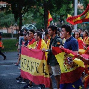 El Nacional Manifestació espanyolista sarria - sergi alcazar