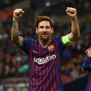 Leo Messi gol Champions Tottenham Barça   EFE