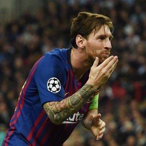 Leo Messi Champions Barça Tottenham   EFE