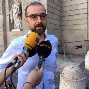 Gerard Ardanuy, regidor no adscrit ajuntament Barcelona /G.R