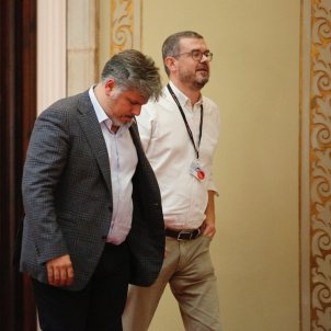 Albert Batet i Jaume Clotet Parlament oct 2018 Sergia Alcàzar