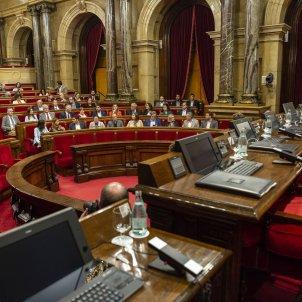 Ple cancelat Hemicicle mig buit espanyolistes - Sergi Alcazar