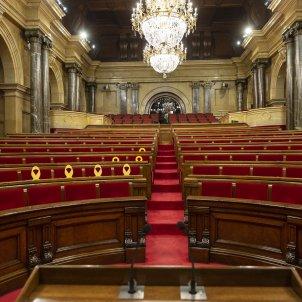 Ple cancelat Hemicicle buit espanyolistes - Sergi Alcazar