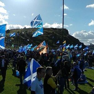 Manifestacio independencia escòcia @pilaraymara