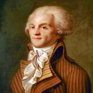 Retrat anònim de Robespierre (1790). Font Musée Carnavalet. Paris