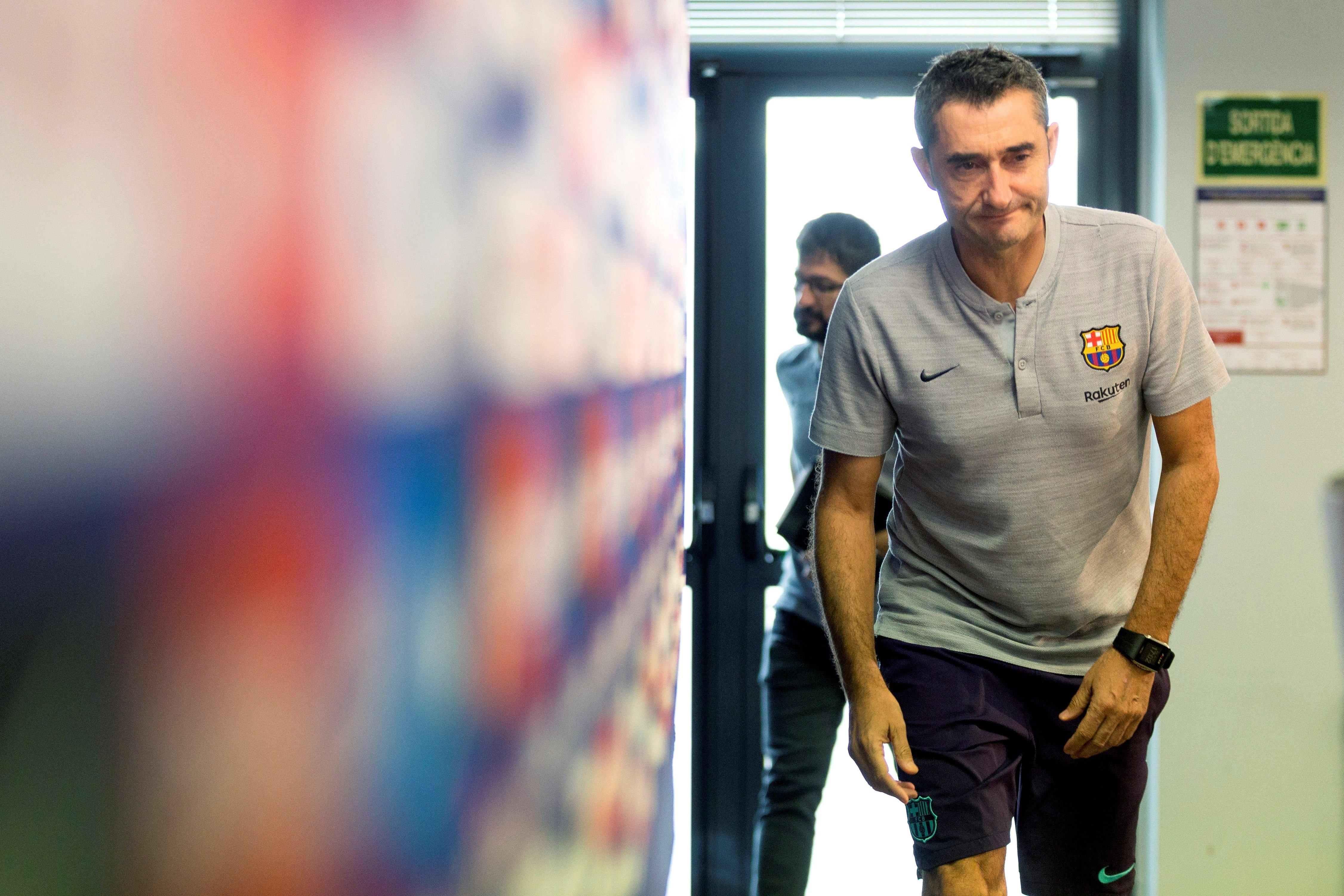 Valverde roda premsa Barça   EFE