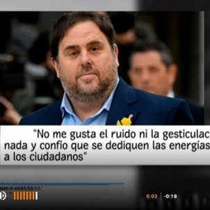 junqueras TVE