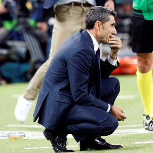 Ernesto Valverde València Barça EFE