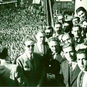 Test 27. Els Fets del Sis d'Octubre de 1934. El govern de Catalunya proclama l'Estat Catalą. Font Enciclopčdia