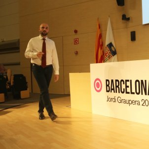Jordi Graupera presentació candidatura Barcelona és capital / ACN
