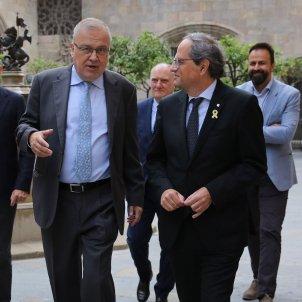Quim Torra  Carles Salvadó  Manel Sanromà Fundació .cat Puigneró Jordi Bedmar