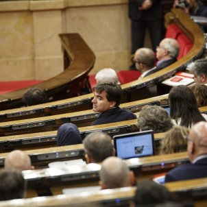 Ple Parlament perdua majoria Sabria -  Sergi Alcazar