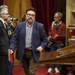 Ple Parlament perdua majoria diputats suspesos Nuet - Sergi Alcazar