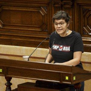 Ple Parlament perdua majoria diputats suspesos Natalia Sanchez CUP - Sergi Alcazar