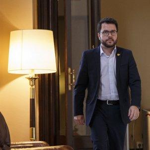 Ple Parlament perdua majoria diputats suspesos Aragones - Sergi Alcazar