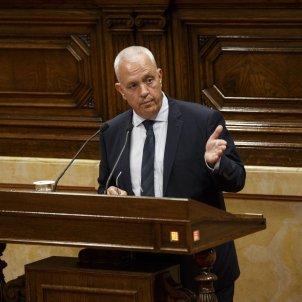 Ple Parlament perdua majoria diputats suspesos Santi Rodriguez - Sergi Alcazar