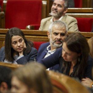 Ple Parlament perdua majoria diputats suspesos Ciutadans Arrimadas Carrizosa - Sergi Alcazar