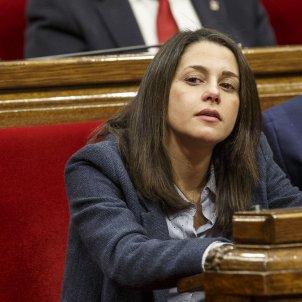 Ple Parlament perdua majoria diputats suspesos Arrimadas Torra - Sergi Alcazar
