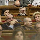 Ple Parlament perdua majoria diputats suspesos Riera CUP -  Sergi Alcazar