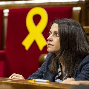 Ple Parlament perdua majoria diputats suspesos llaç Arrimadas - Sergi Alcàzar