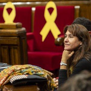 Ple Parlament perdua majoria diputats suspesos llaç Borras - Sergi Alcàzar
