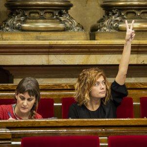 Ple Parlament perdua majoria diputats suspesos Catalunya en comu podem comuns Alamany- Sergi Alcàzar