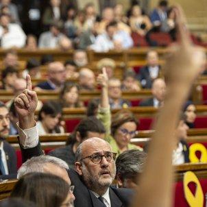 Ple Parlament perdua majoria diputats suspesos votacions - Sergi Alcàzar