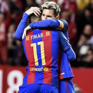 Barça Sevilla Messi Neymar EFE