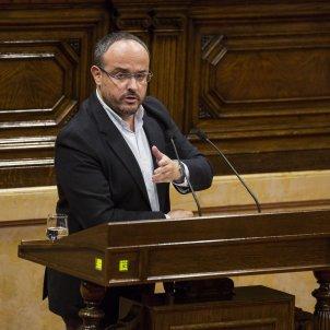 Ple Parlament Alejandro Fernandez - Sergi Alcazar