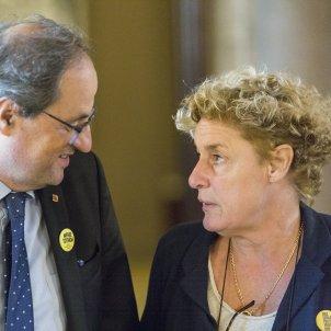 President Quim Torra Parlament Magda Casamitjana ERC - Sergi Alcazar