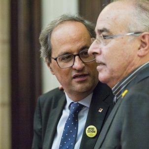 President Quim Torra Parlament Joan Bargalló - Sergi Alcazar