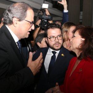 Quim torra Pere Aragonès Carmen Calvo premis Pimec ACN