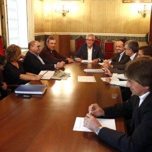 Reunió Ajuntament Tarragona / ACN