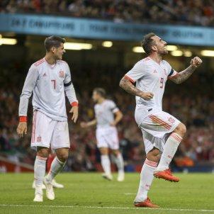 Paco Alcácer gol Espanya Gal·les   EFE