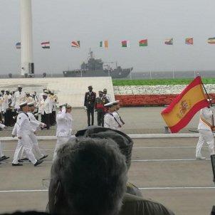 exèrcit espanyol desfilada dictador obiang guinea equatorial twitter gabriel obiang