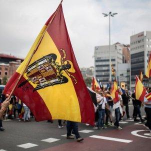 12-O, hispanitat, espanyolisme, democracia nacional, dn, ultra, feixista, aguila franquista (bona qualitat) - Carles Palacio
