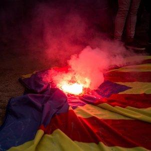 12-O, hispanitat, espanyolisme, democracia nacional, dn, ultra, bengales, fum, crema estelades (bona qualitat) - Carles Palacio