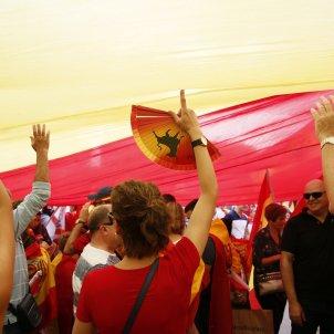 12-O Hispanitat Espanyolisme unionisme bandera ventall- Sergi Alcàzar
