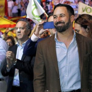 vox miting vistalegre abascal - efe
