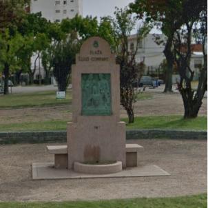 Montevideo, primera ciutat del món que reivindica la figura del president Companys. Monument al president Companys. Font Google (2)