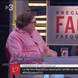 Pedro Ignacio Altamirano FAQS TV3