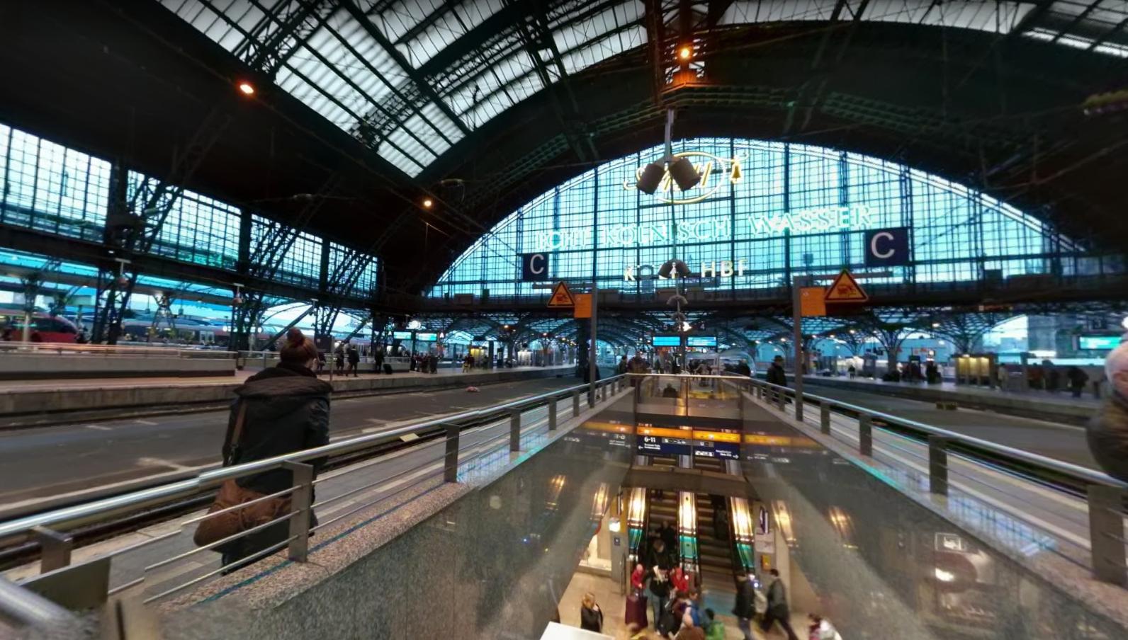 estacio tren colonia google maps