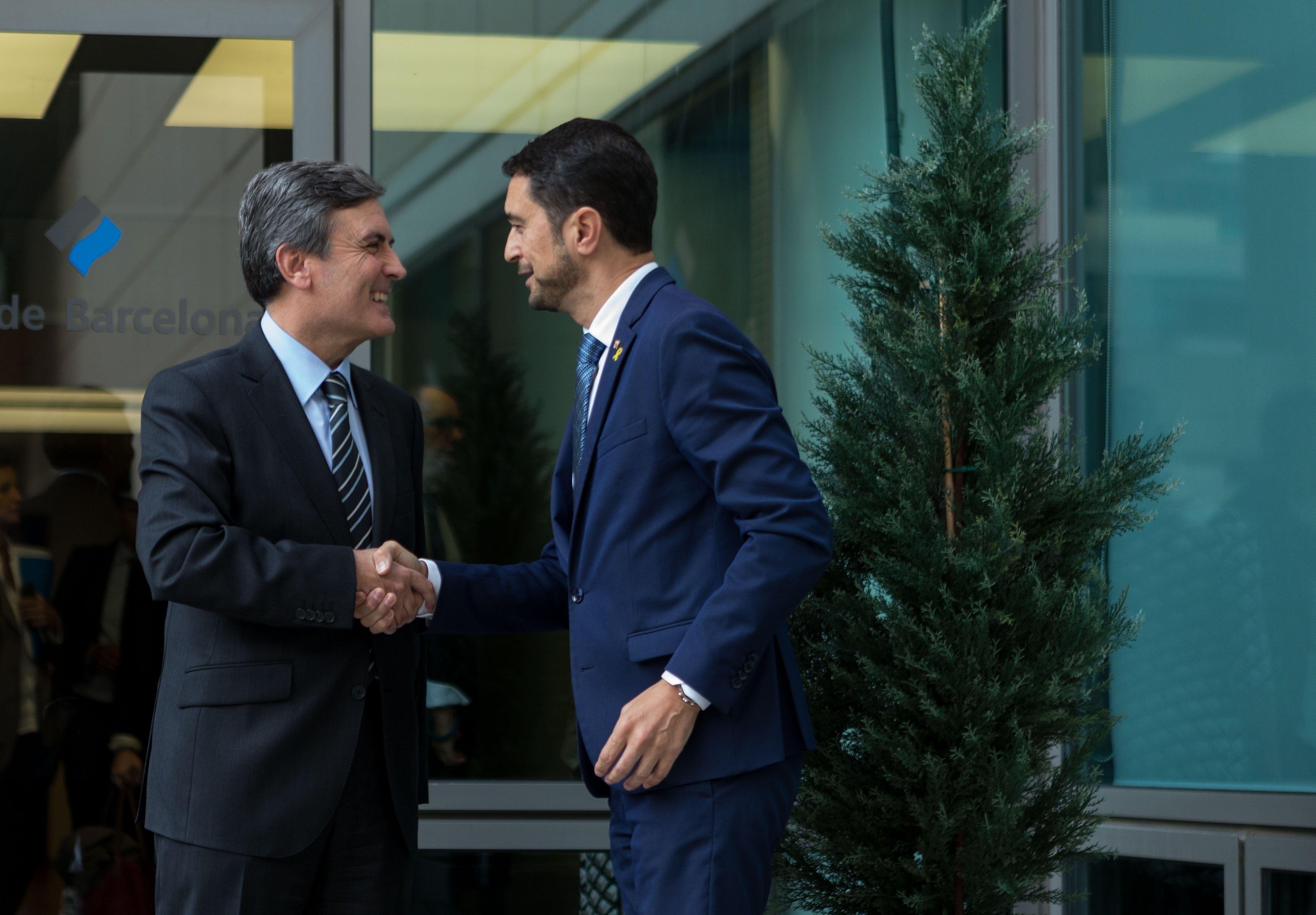comissió bilateral Infraestructures Damia Calvet Pedro Saura Efe