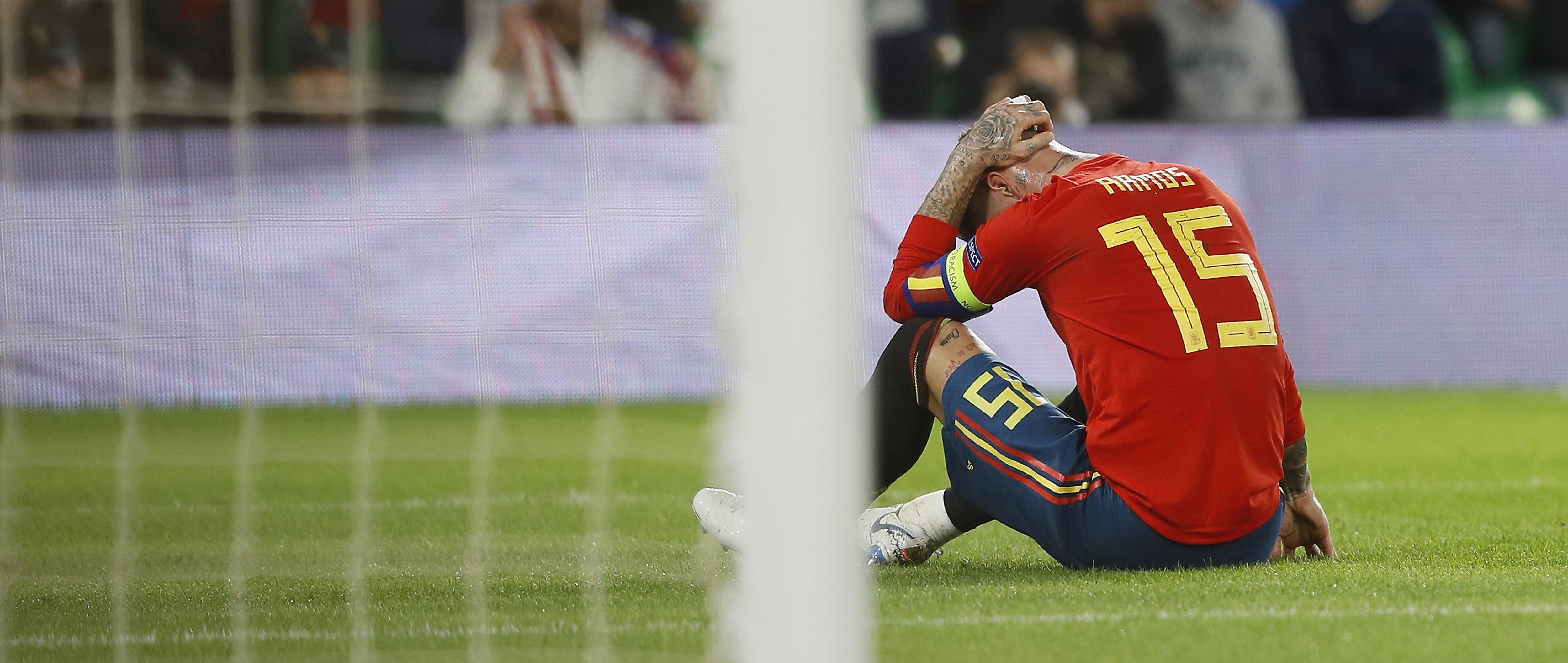 Sergio Ramos Espanya Anglaterra EFE