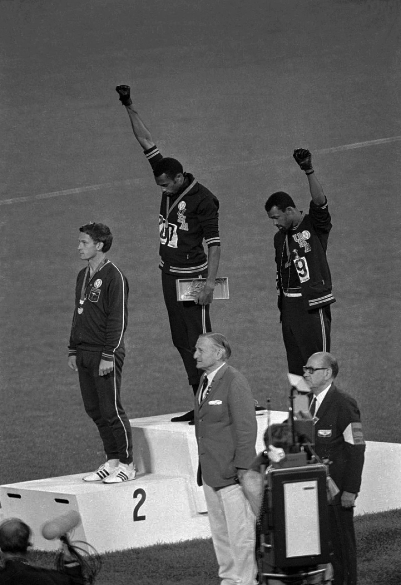 Peter Norman Tommie Smith John Carlos Flickr 1968 Black Power Salute