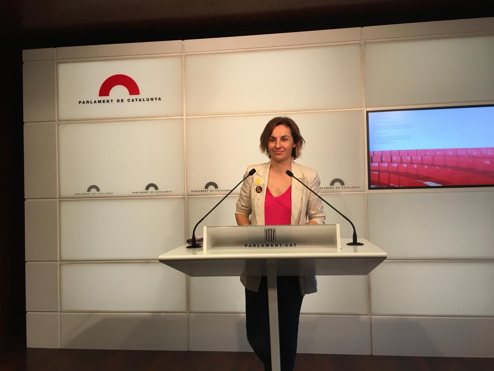 ELNACIONAL Anna Caula ERC Parlament Carlota Camps