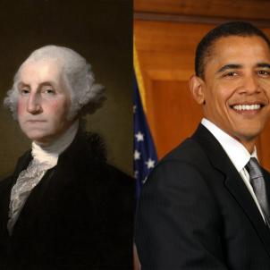 Washington i Obama / Wikipedia