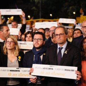 Torra, Aragonès, consellers any presó Jordis - Sergi Alcàzar