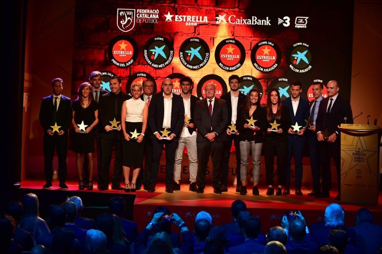 7a Gala Estrelles futbol català @FCF CAT