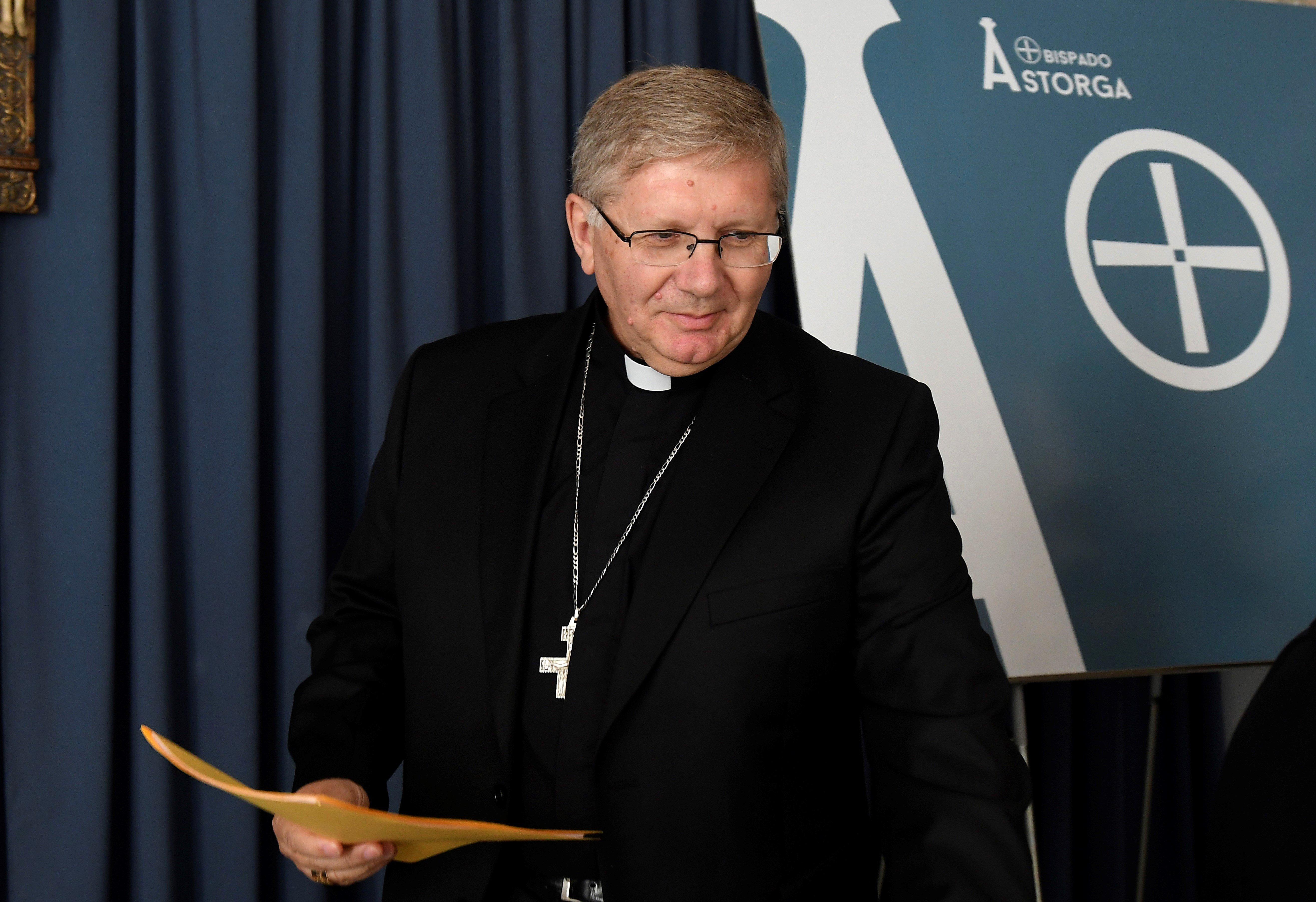 bisbe Astorga Juan Antonio Menendez Fernandez EFE